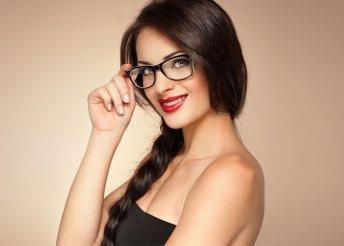 Komplett szemüveg 1,5-ös törésmutatójú bifokális műanyag lencsével