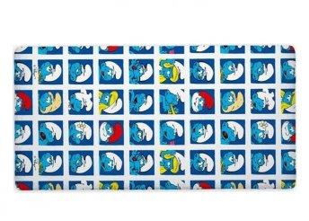 90x200 cm, gumis lepedő gyerekeknek 100 % pamutból, többféle mintával