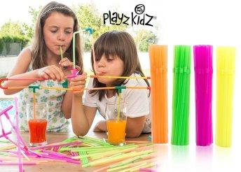 Playz Kidz szívószálas játék