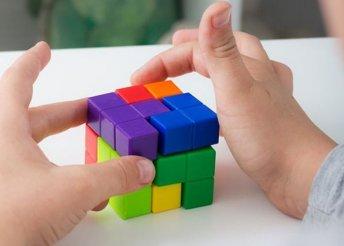 7 darabos puzzle kocka