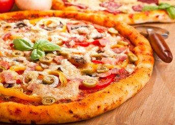 4 db választható pizza a Dunakavics Étteremben