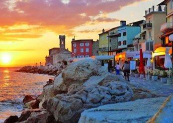 Csobbanás az Adriai-tengerben