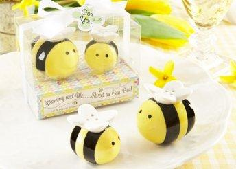 Méhecskés só és borsszóró készlet