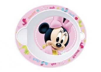Mikrózható baba mélytányér Mickey vagy Minnie mintával