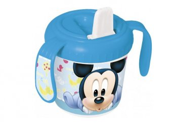 Minnie vagy Mickey egér mintás cseppmentes itatópohár