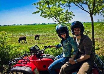Homokháti Quad Safari túra és wellness