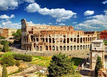 Római vakáció - 4 nap rengeteg szolgáltatással