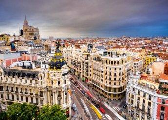 4 nap 2 főnek Madrid belvárosában reggelivel