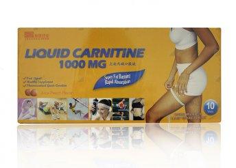 10x10 ml L-karnitin ampulla