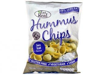 Csicseriborsó chips több ízben