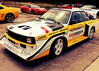 Vezess egy 460 LE-s Audi S1-et a Hungaroringen