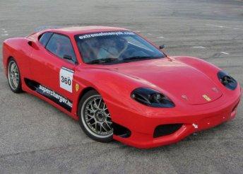 Sebesség és csillogás - 3 vagy 5 körös élményautózás a Kakucs Ringen egy Ferrari 360 Replikával