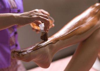 Teljes láb- és kargyanta csokoládégyantával