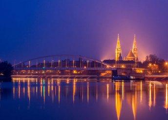 Pihenjetek Szegeden – 3 nap 2 főnek, félpanzió