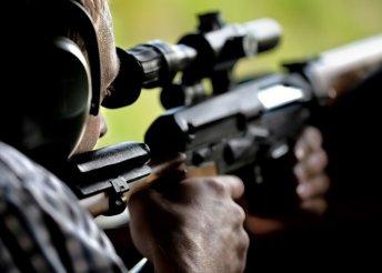 20 lövés 8 x 57-es Kolarms sniperrel