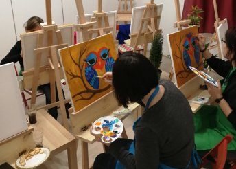 Éld át az alkotás örömét - élményfestészet