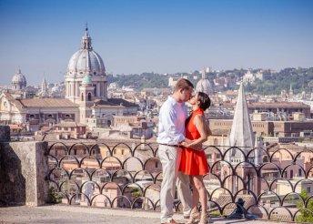 Romantikus kaland Rómában a Hotel Kriss***-ben