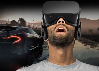 Száguldjatok élethű körülmények között - autóversenyzés VR szemüveggel