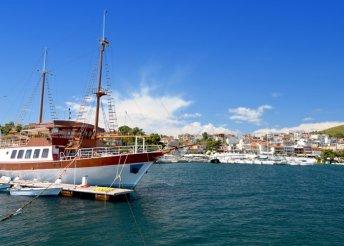 Üdülés Görögországban, 8 napon át, buszos utazással