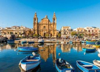 Máltai vakáció - 6 nap 3 vagy 4*-os hotelben, repülőjeggyel
