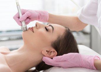 Mikrodermabrázió és személyre szabott arcpakolás