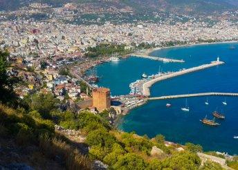 4-csillagos, all inclusive üdülés a török Riviérán, repülőjeggyel 2 főnek