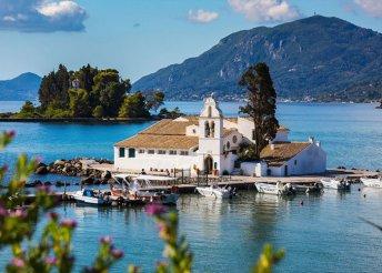 8 napos nyaralás a Jón-tenger partjainál, Korfun