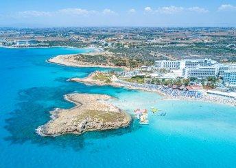 Ciprusi varázslat – 8 nap 2 főre 4*-os szállodában, Agia Napában, félpanzió, repülőjegy