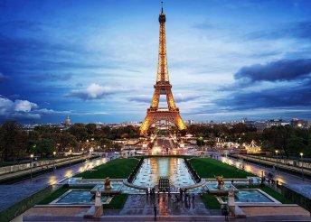 5 nap Párizsban, 4*-os szállodában 2 főnek, repülős utazással