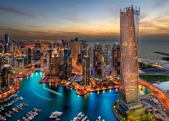 A hihetetlen Dubaj – 7 nap 2 főnek 4*-os hotelben, reggeli és repülőjegy