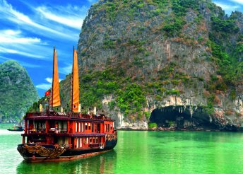 Vietnami körutazás félpanziós ellátással, magyar nyelvű idegenvezetéssel 2 személy részére