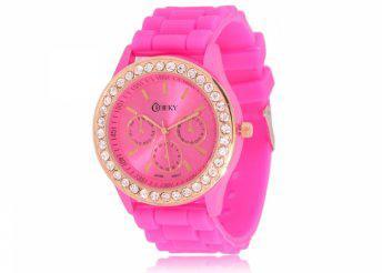 Cheeky HE002 Pink Chronostyle női karóra