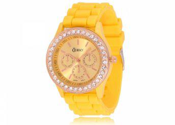Cheeky HE002 Yellow Chronostyle női karóra