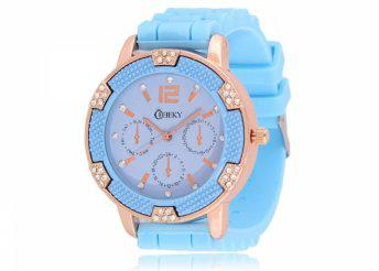 Cheeky HE001 Light Blue Chronostyle karóra