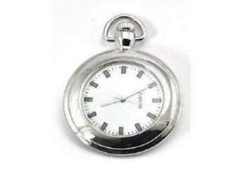 Taschenuhr TU029 Silver/White karóra