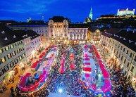 Adventi kavalkád Pozsonyban, városnézéssel