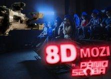 Egyedülálló 8D moziélmény a Pániq-szobában